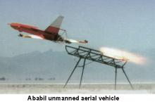 Ababil unmanned aerial vehicle